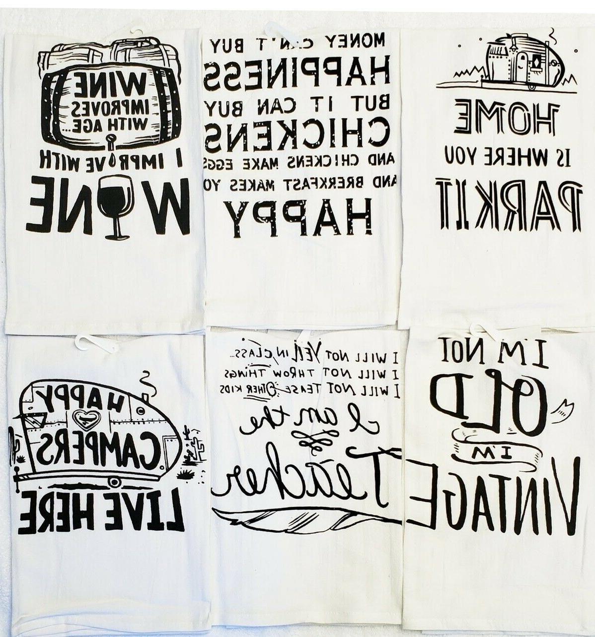 flour sack towels 24 pcs cotton absorbent