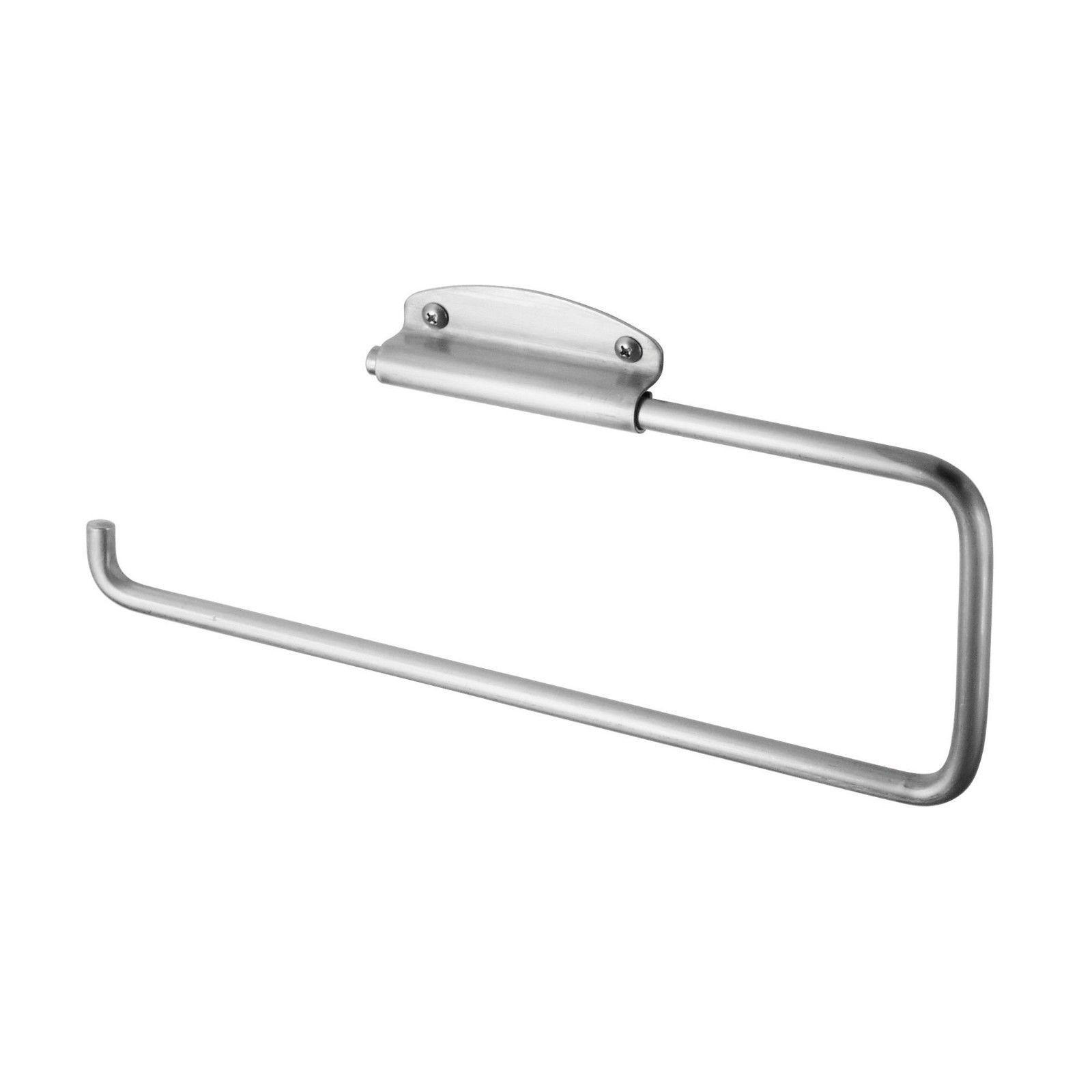 InterDesign Forma Towel Holder for Kitchen-Wall Mount/Under Cabinet