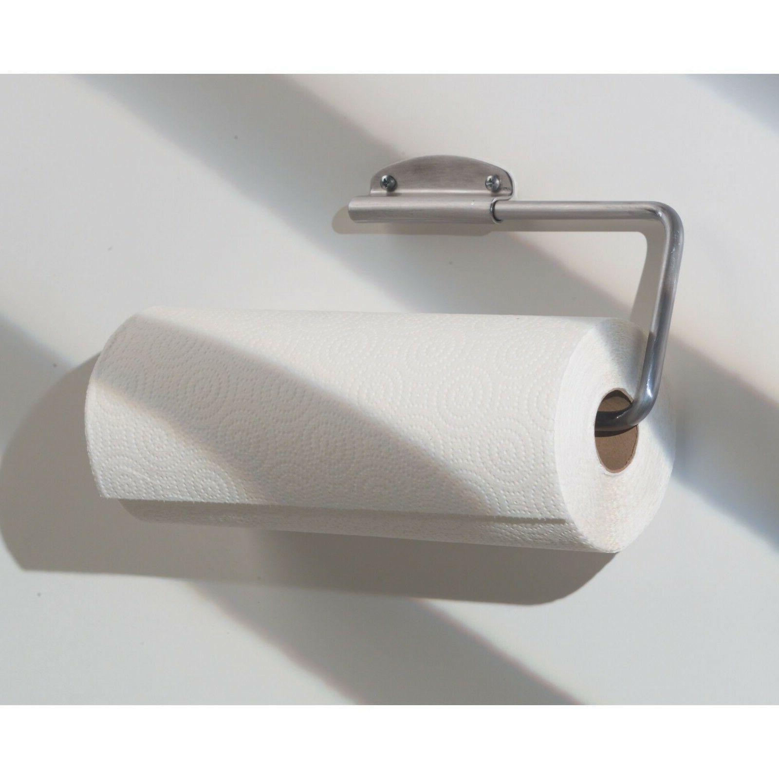 InterDesign Swivel Towel Holder Mount/Under Cabinet