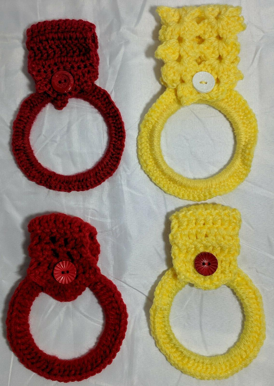 Hand Crocheted Hanging Kitchen Hand From 13 Variations
