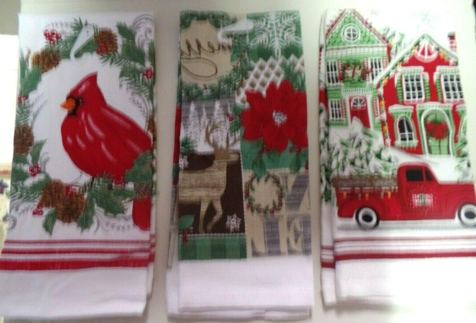 hand towels holiday designs