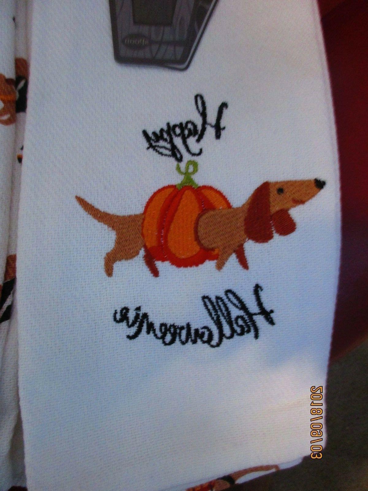 Happy Halloweenie Dachshund