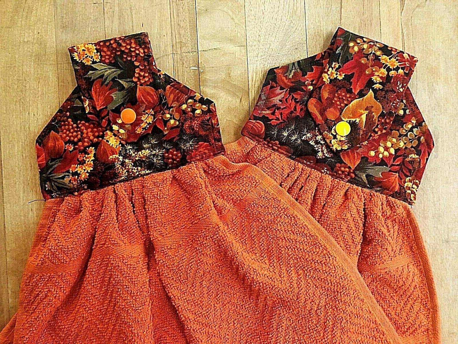Harvest Fall Hanging Kitchen Towels, Towels,