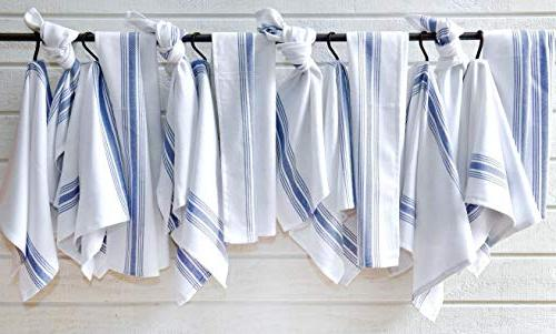 "Value Herringbone Kitchen Towel 15"" x & White"