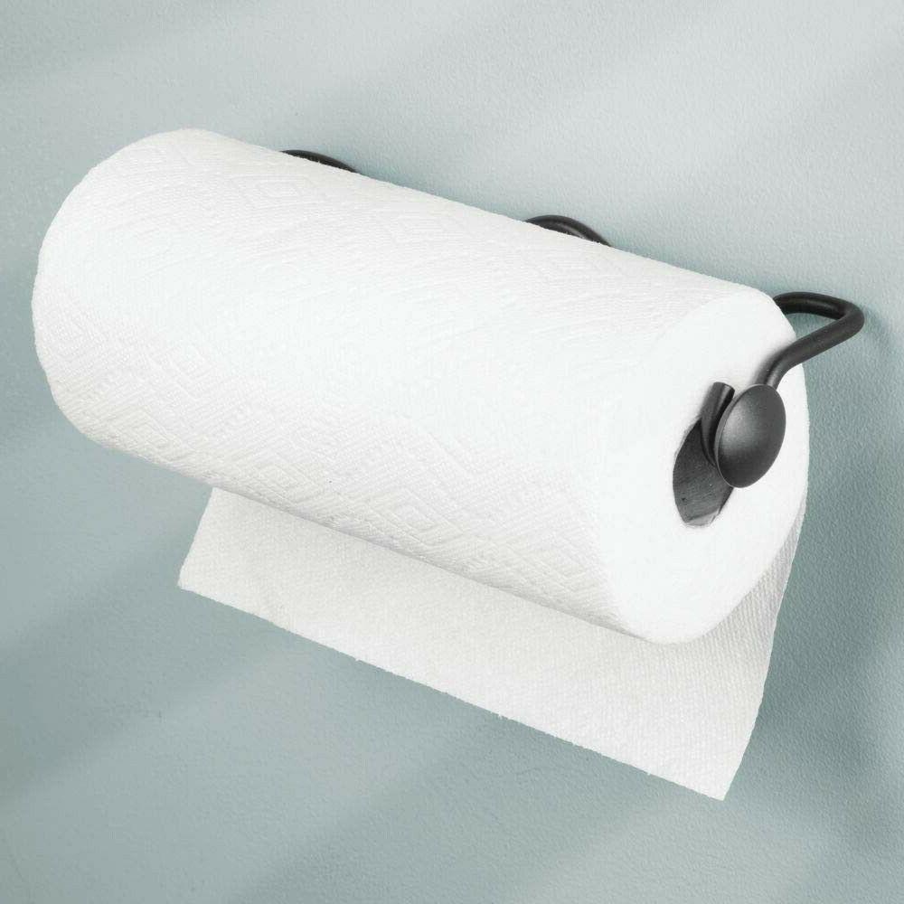 holder paper towel wall mount kitchen under
