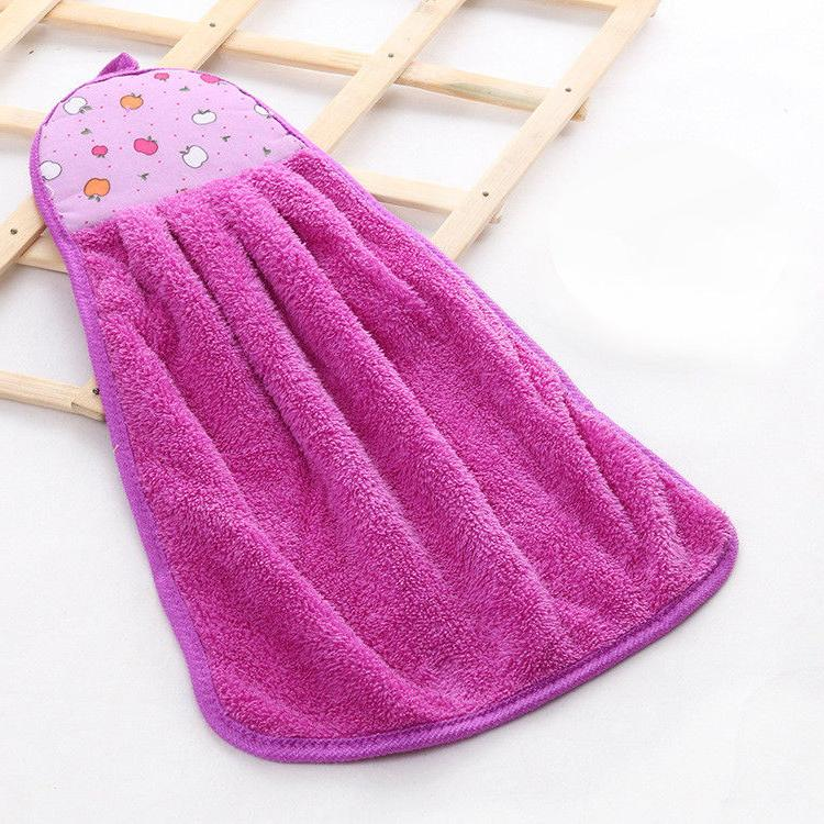 Home Bathroom Towel Coral Soft Hand