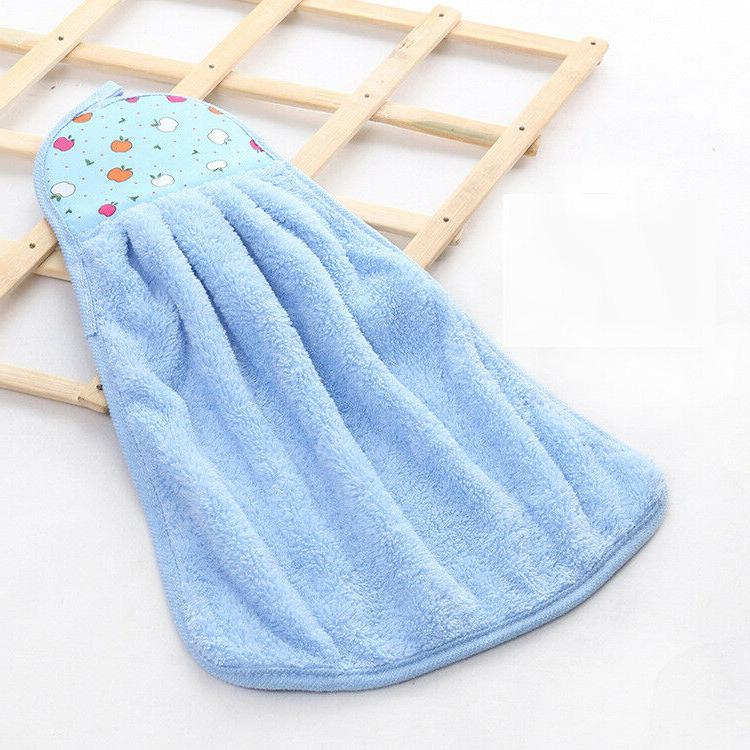 Home Towel Coral Velvet Cleaning Soft Towels