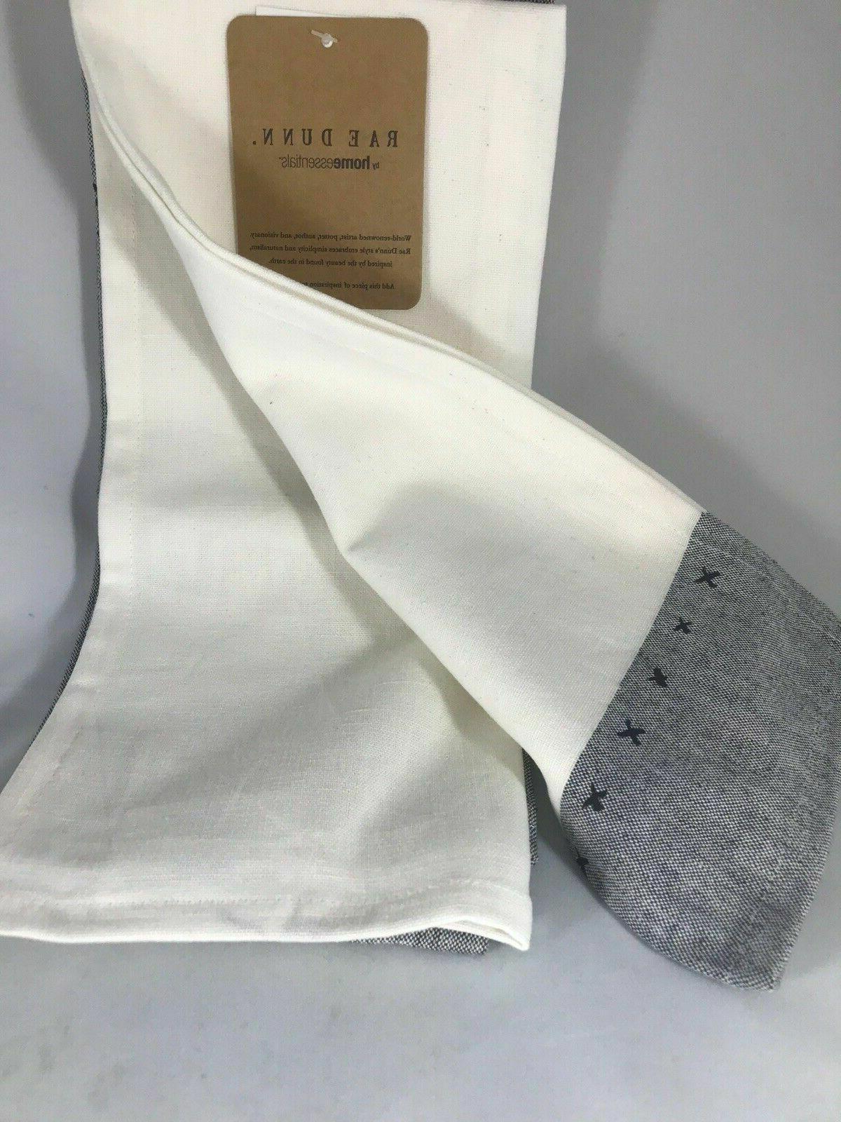 RAE GUEST TEA TOWELS 2 PC NWT