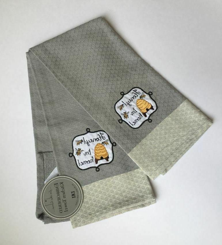 honey i m home embroidered towels set