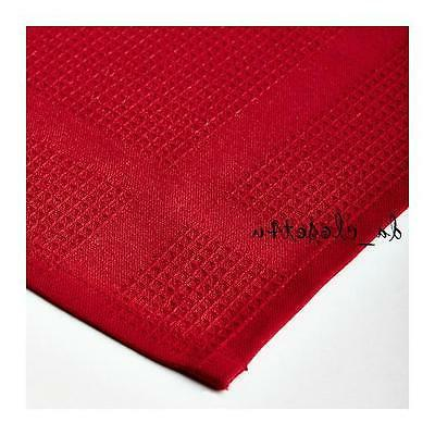 """IKEA towel pack Red 100% 20x28"""" NEW"""