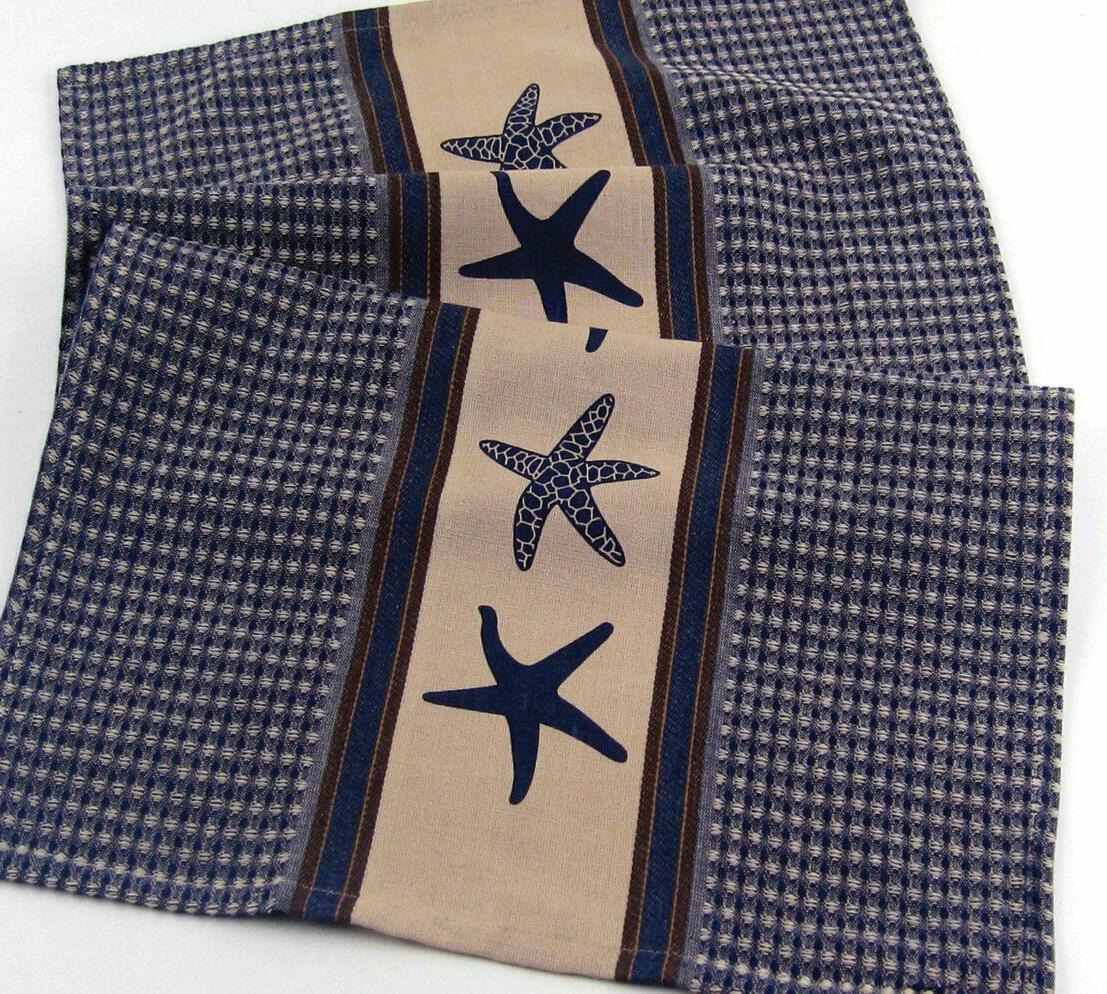 india overseas starfish towels waffle