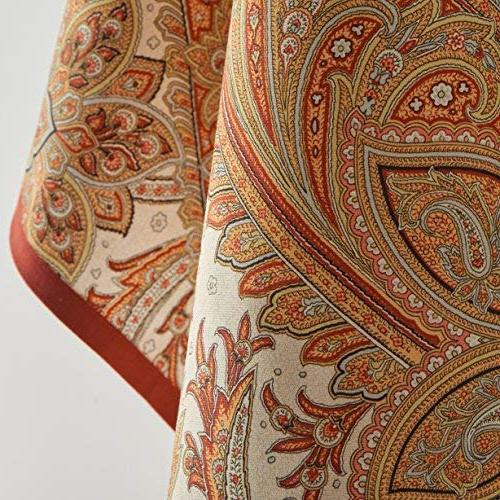 Maison Hermine Kashmir Paisley 100% Cotton of 20 by Inch.