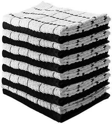 Utopia Towels Kitchen 12 Pack 15 x 25 Inch Cotton Machine Wa
