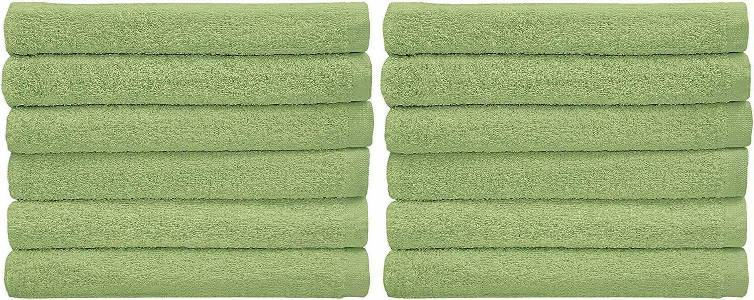 12 Kitchen Bar Mop Towels Cleaning Cotton Utopia