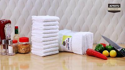 Mops Towels, 12 Towels - 16 x