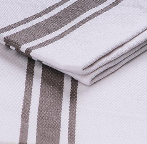 - Premium Towels, Machine Washable Cotton Kitchen Dishcloths, Bar &