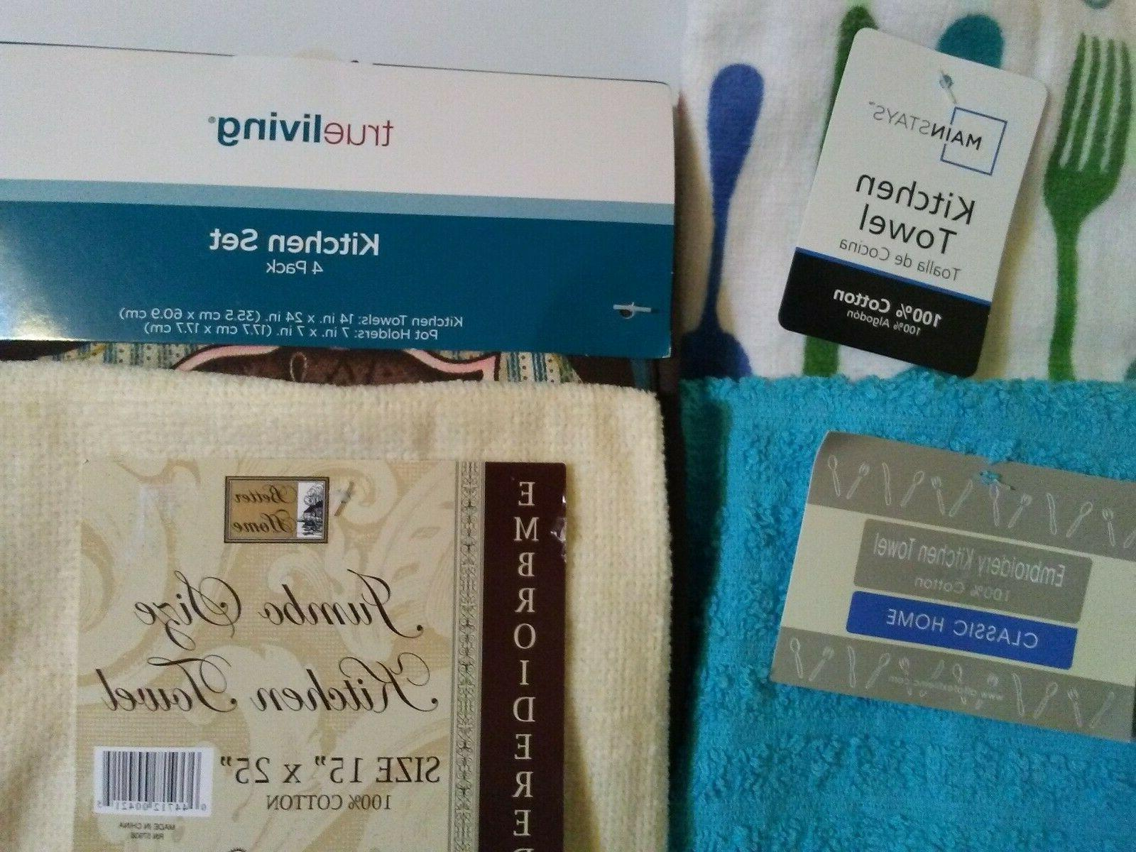 Kitchen / Dish Towels & Set with tags