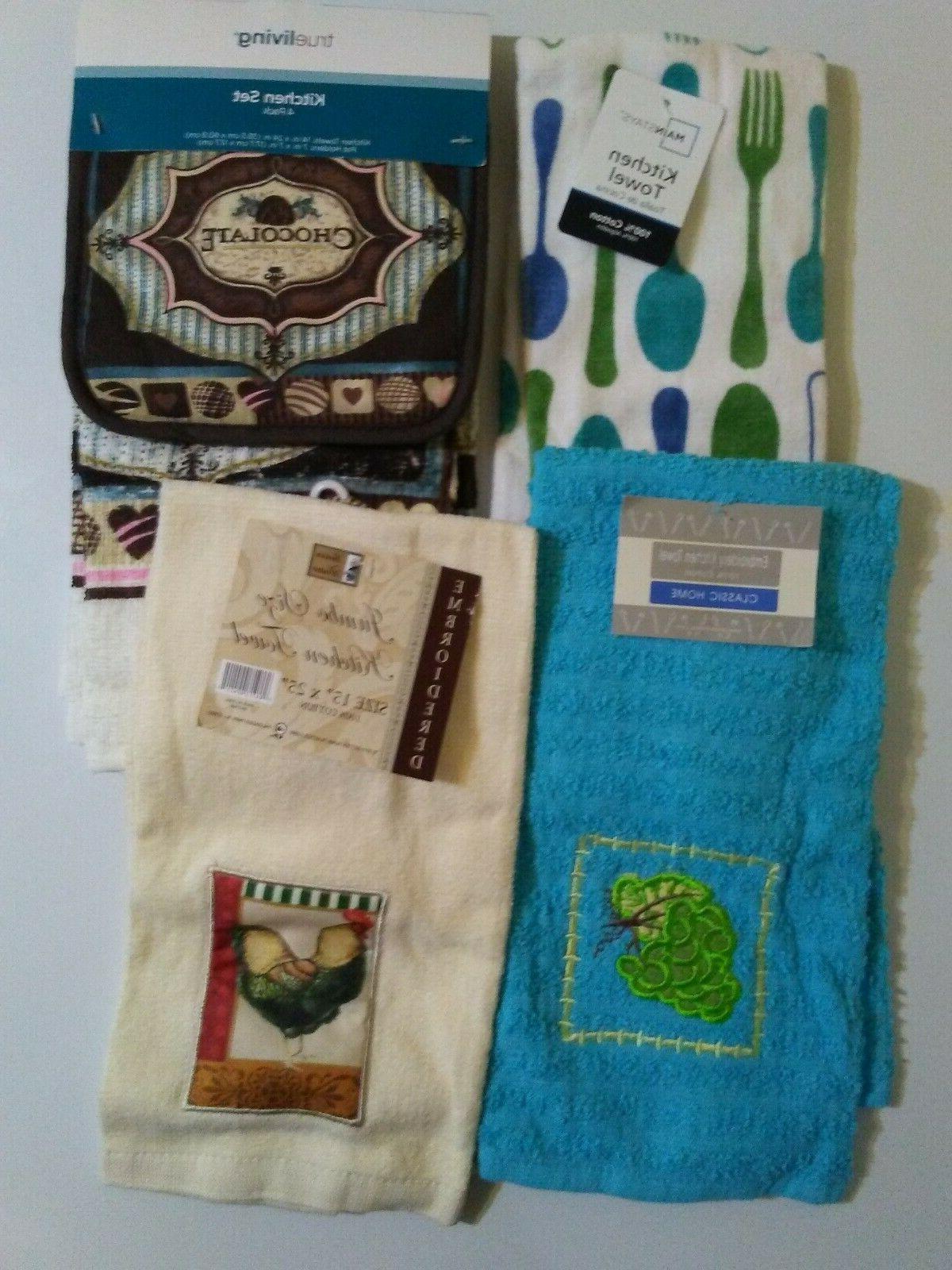 Kitchen Towels & Kitchen with
