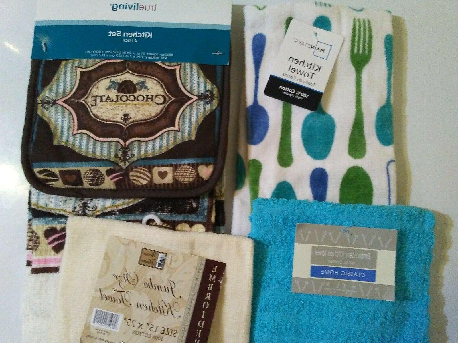kitchen dish towels and kitchen set 2