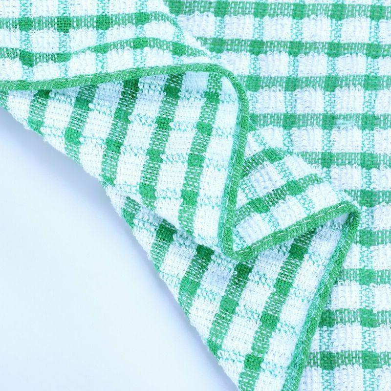 Kitchen Dish Towels Colors Absorbent Drying 12-24