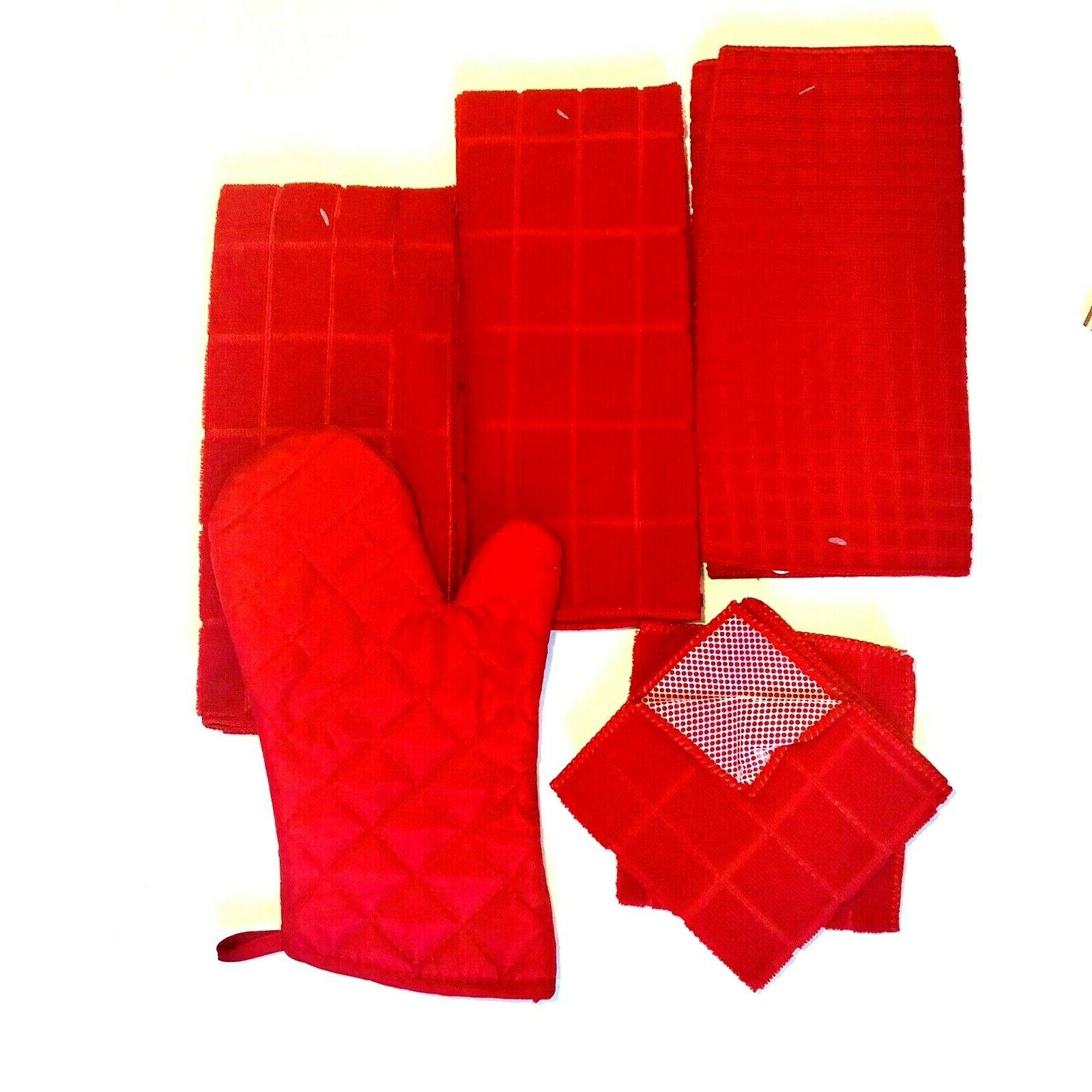 Kitchen 2 Dishcloths Drying Oven Set of