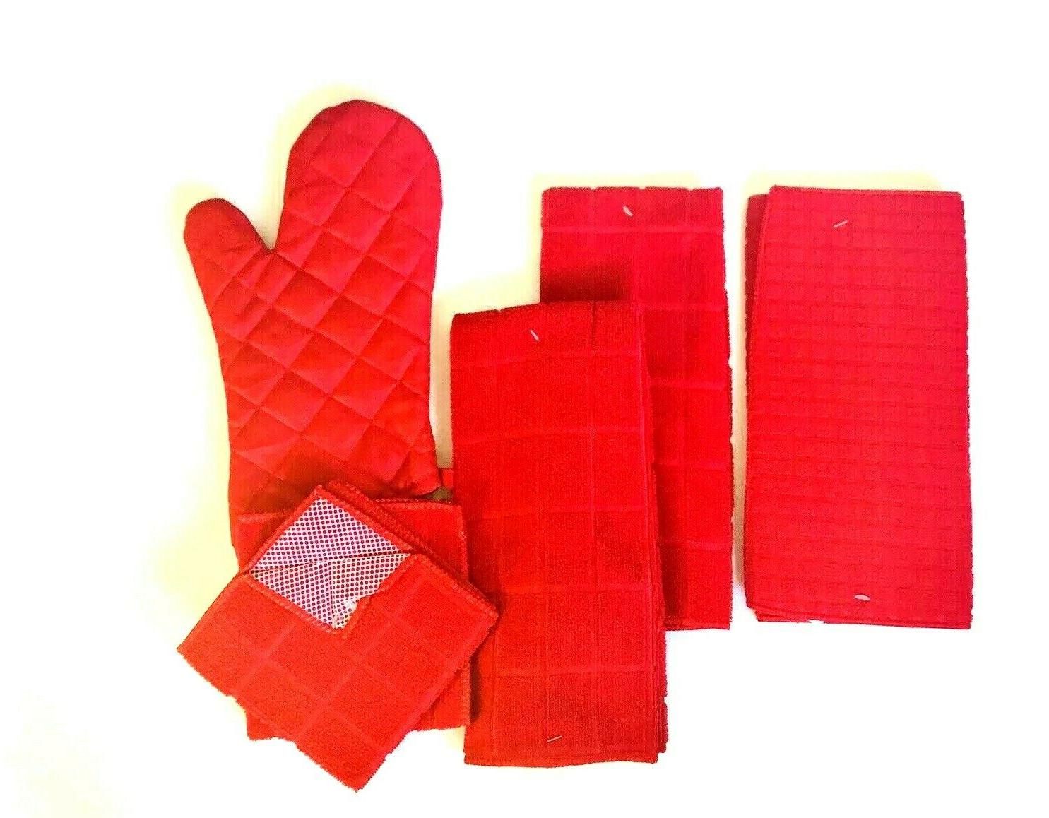 Kitchen 2 2 Dishcloths Drying Oven Solid Set of 6 New