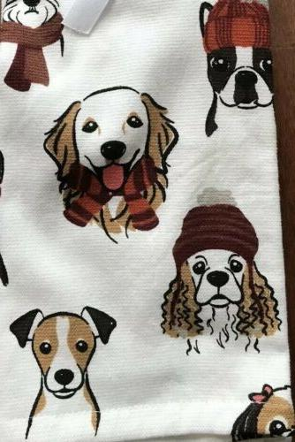 Kassafina Home Towels Set WINTER DOGS