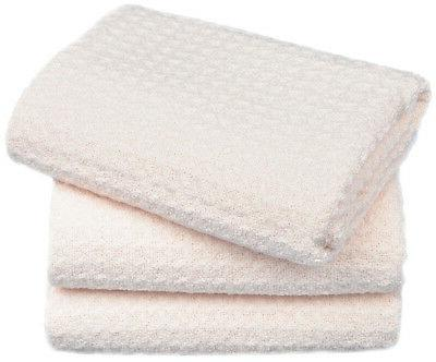 Kitchen Microfiber Wash Cloths Towel 16X16 Pack White