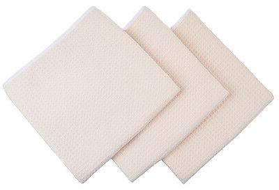 Kitchen Microfiber Wash Towel 3 White