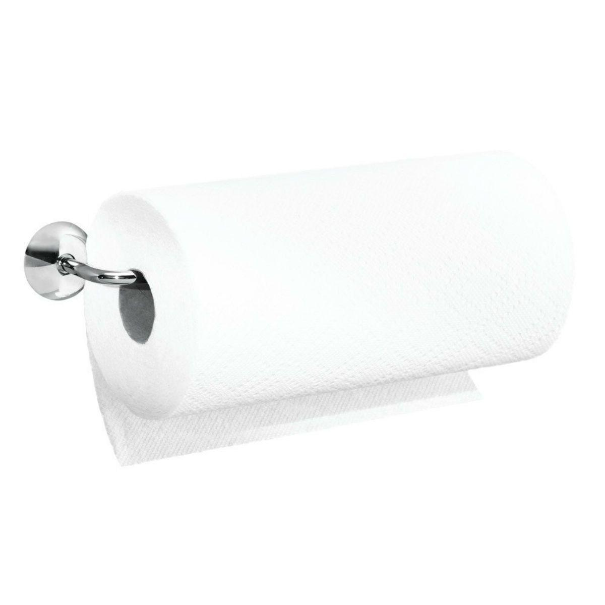 Kitchen Towel Holder Mount Under Cabinet Rod Horizontal