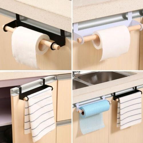 Kitchen Roll Paper Storage Rack Holder Tissue Hanger