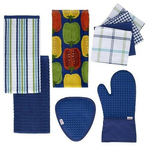 Cotton Kitchen Soft Towels Drying Hands Absorbent 4