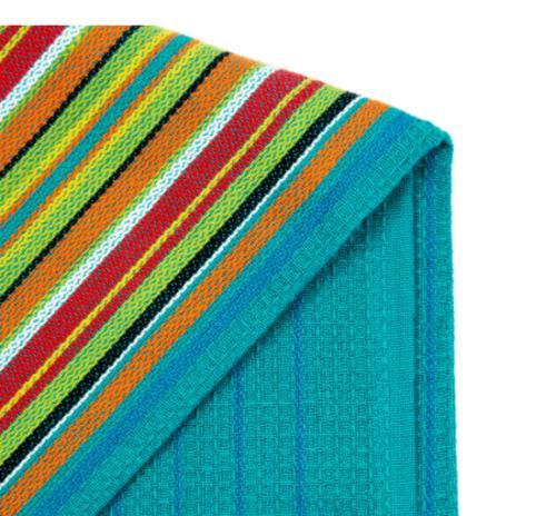 Kitchen Towel Stripe Multi-Color Cloth Absorbent Towels 12 Pack