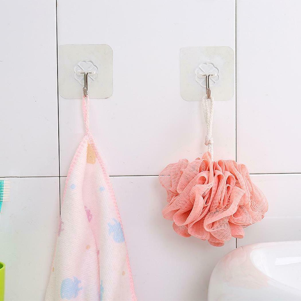 Kitchen Hook Hanger Clear Bathroom Sucker 06