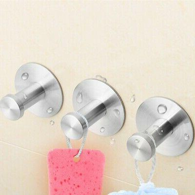 Removable Bathroom Towel Suction Cup Holder Shower Wall Kitc