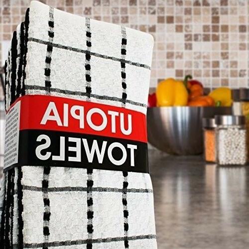Utopia Towels Cotton - Machine Washable -