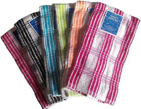 kitchen towels 15x25 inch 12 pcs set