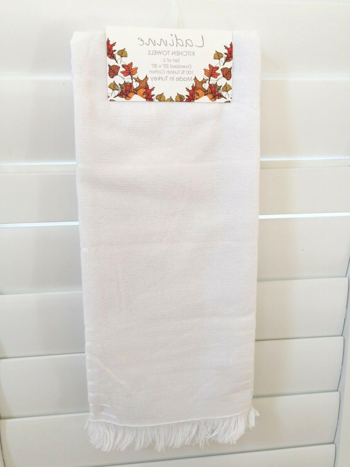 Ladinne Kitchen Towels set THANKSGIVING