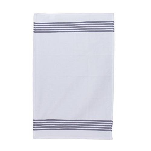 The Set of Kitchen Towels, Stripe Design, Absorbent, Stripe,Kitchen Towels and Dish Cloths