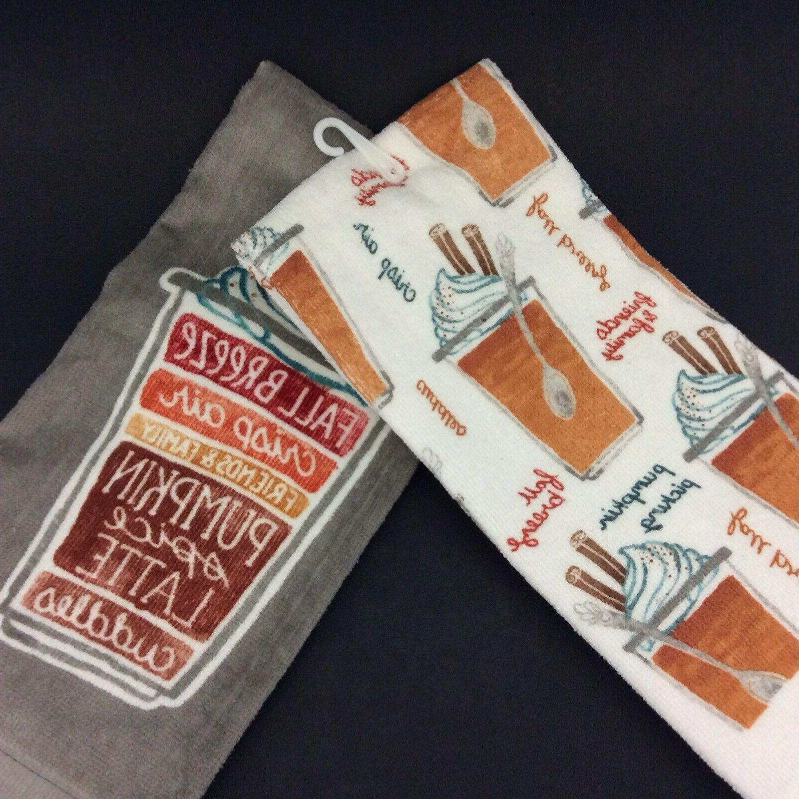 Kitchen Towels Celebrate Together Autumn Orange Of 2
