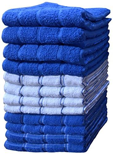 Cotton, Soft Set 12, 3 Kitchen Towels, -