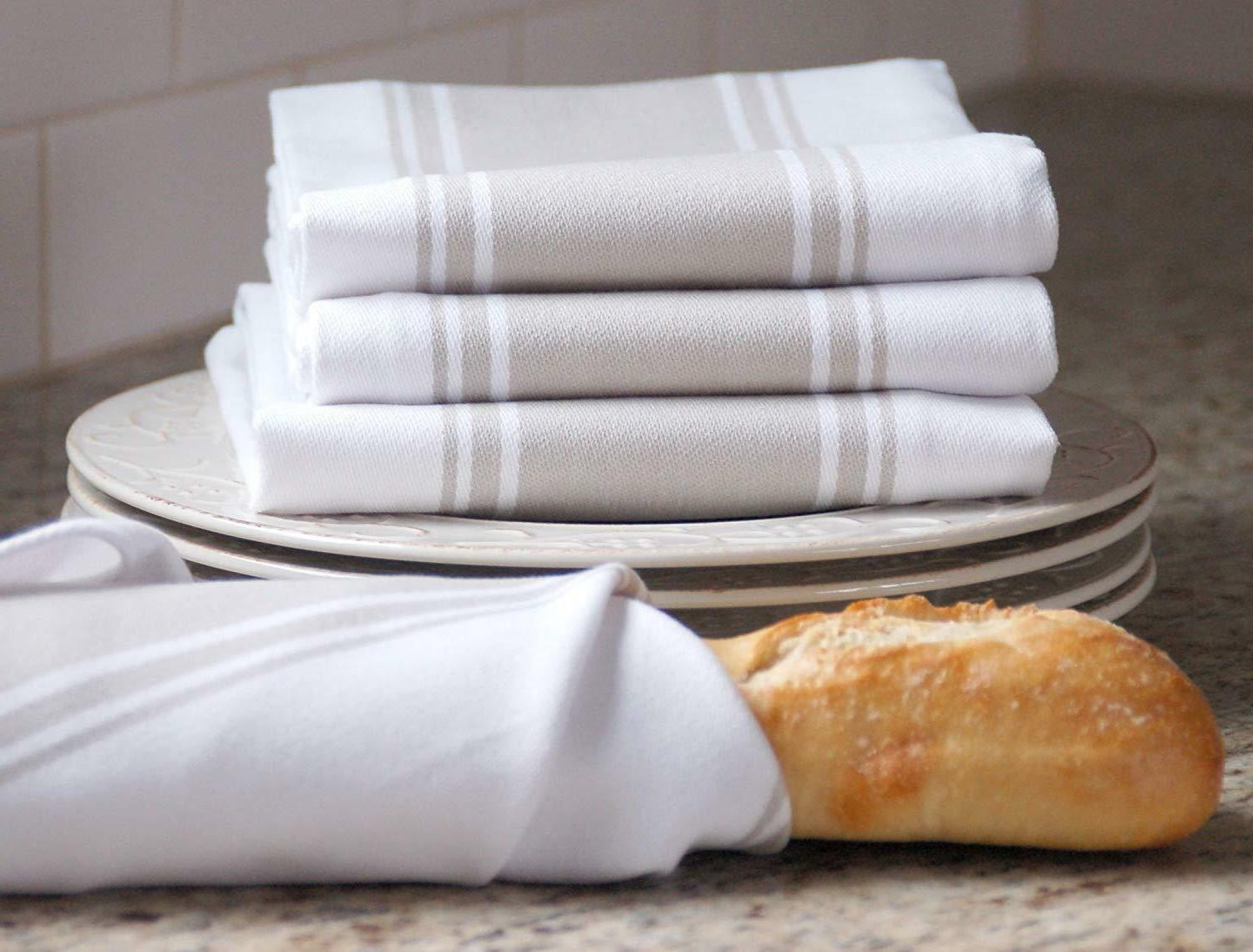 Kitchen Towels High Absorbent Vintage Tea