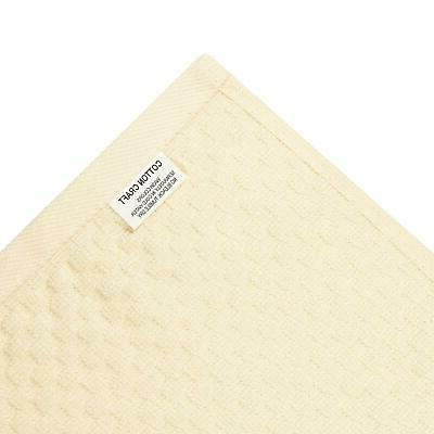 Cotton -Euro Cafe Waffle Terry- 12 Inches