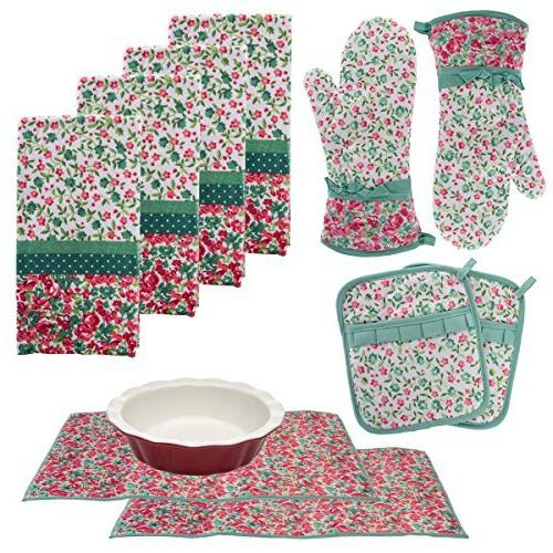 Kitchen & Table Linens Laura Ashley Kitchen Towels Oven ...