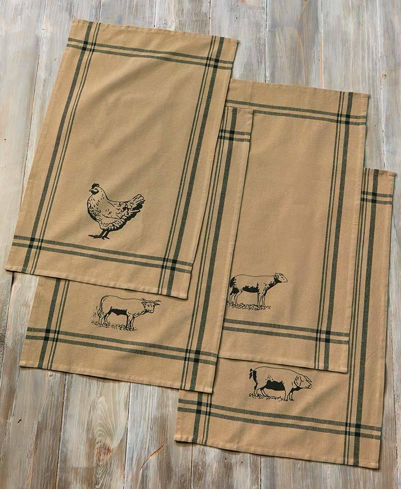 FARMHOUSE TOWELS SET