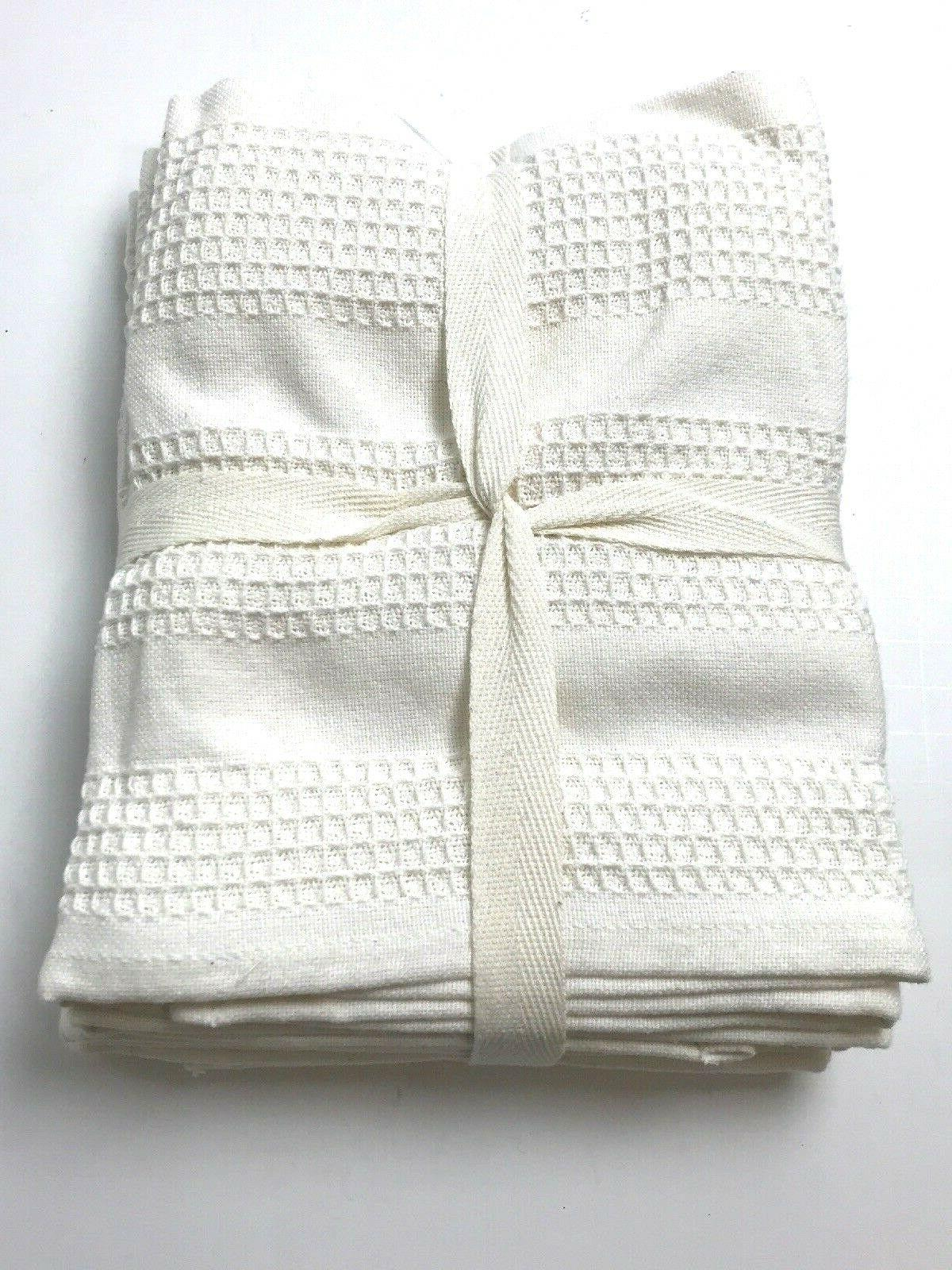 The Gourmet Towels Set Ivory