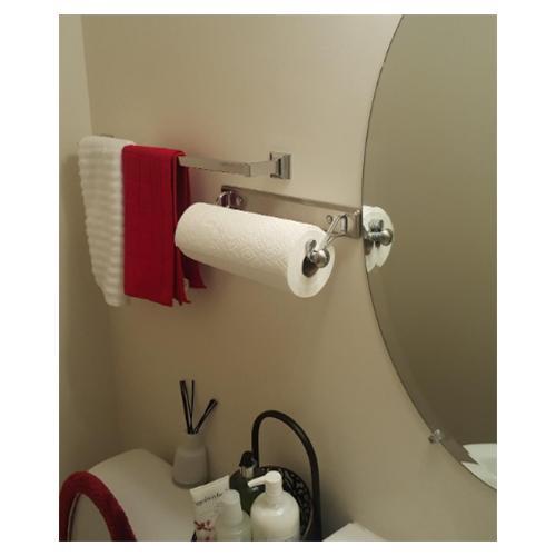 Kitchen Mount Paper Towel Split Finish