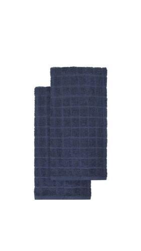 kitchensmart colors 2 pack solid kitchen towels