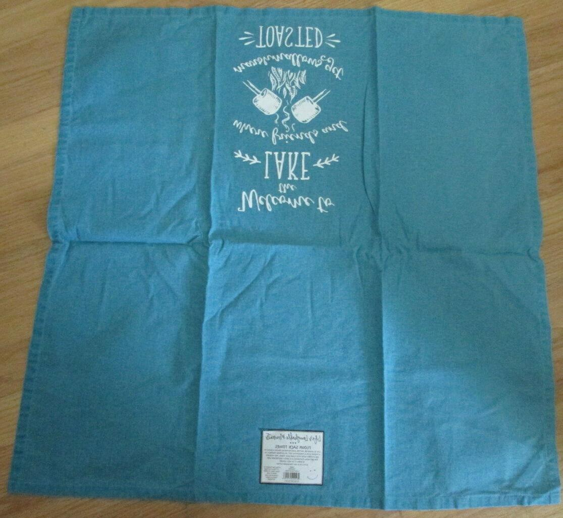 Kay Dee Designs House Kitchen Towels Set Sack Blue