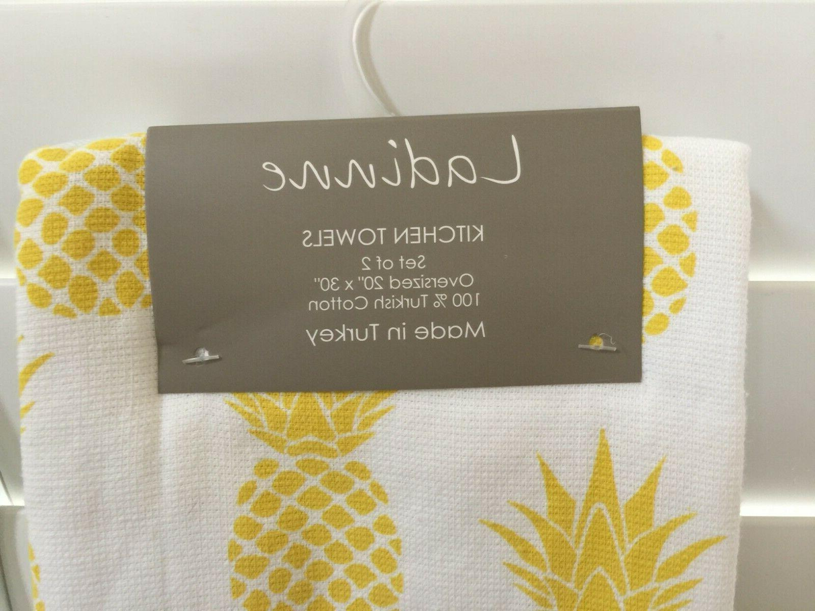 LADINNE in KITCHEN TOWELS Set of 2 Cotton